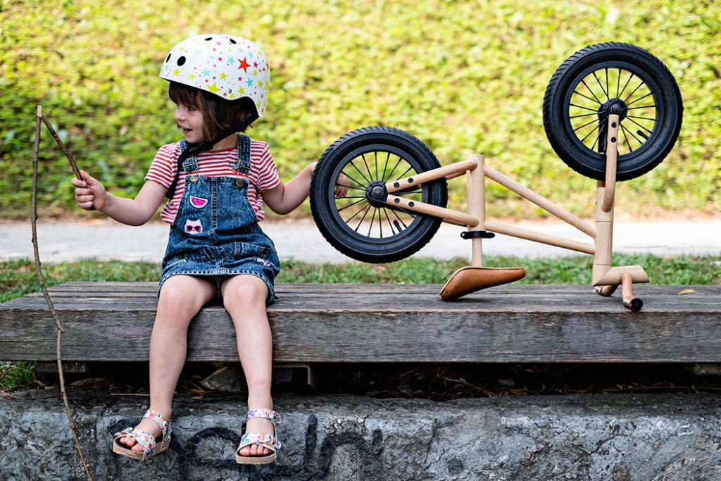 Kids Excited About Bikes